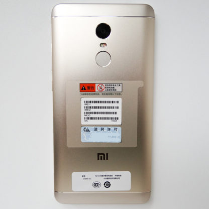 Xiaomi Redmi Note 4X (2) [Золотой]
