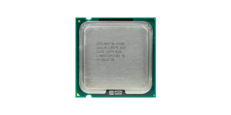 Intel Core 2 Duo E7600