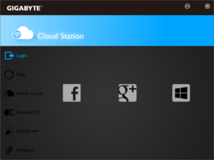 Утилита GIGABYTE Cloud Station B15.0327.1