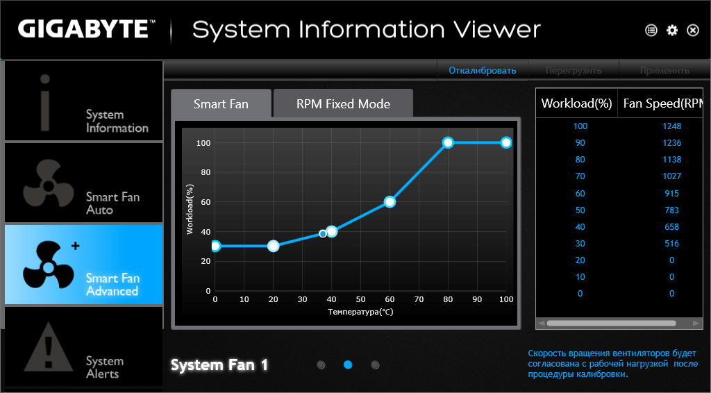 Утилита GIGABYTE System Information Viewer B16.0822.1 (4)
